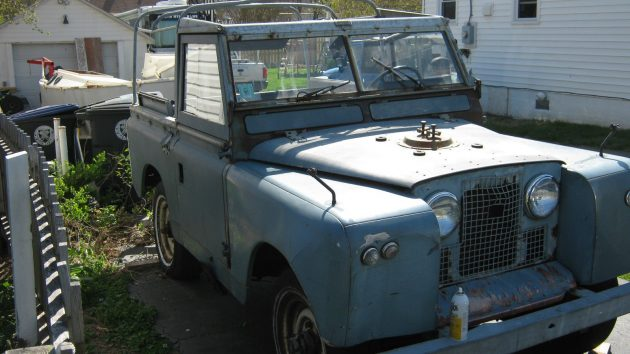 Jeep Fighter: 1969 Land Rover