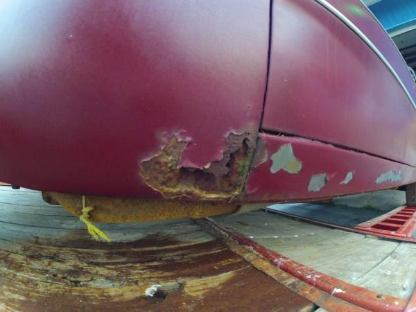 rust left