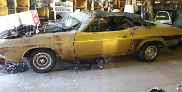 Worthy But Rusty: '71 Dodge Challenger Convertible