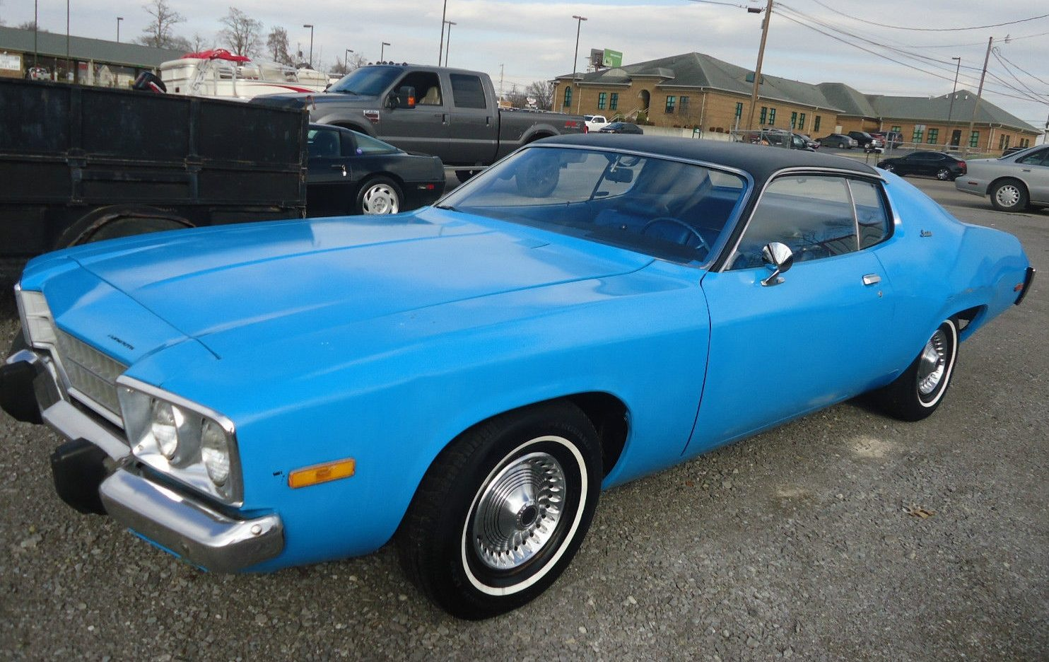 Petty Blue And 15k Miles 1973 Plymouth Satellite
