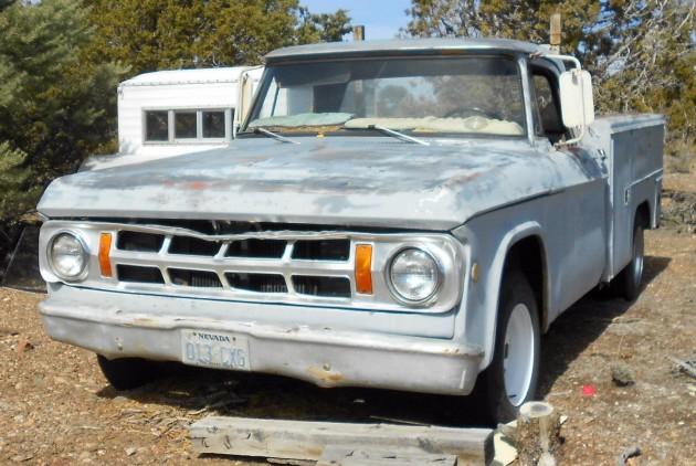 Ran When Parked: 1969 Dodge D200