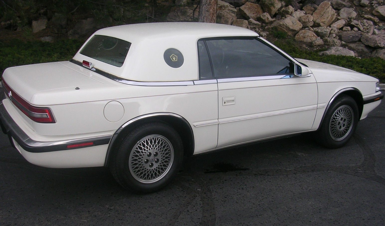2 335 miles 1991 chrysler tc by maserati. Cars Review. Best American Auto & Cars Review
