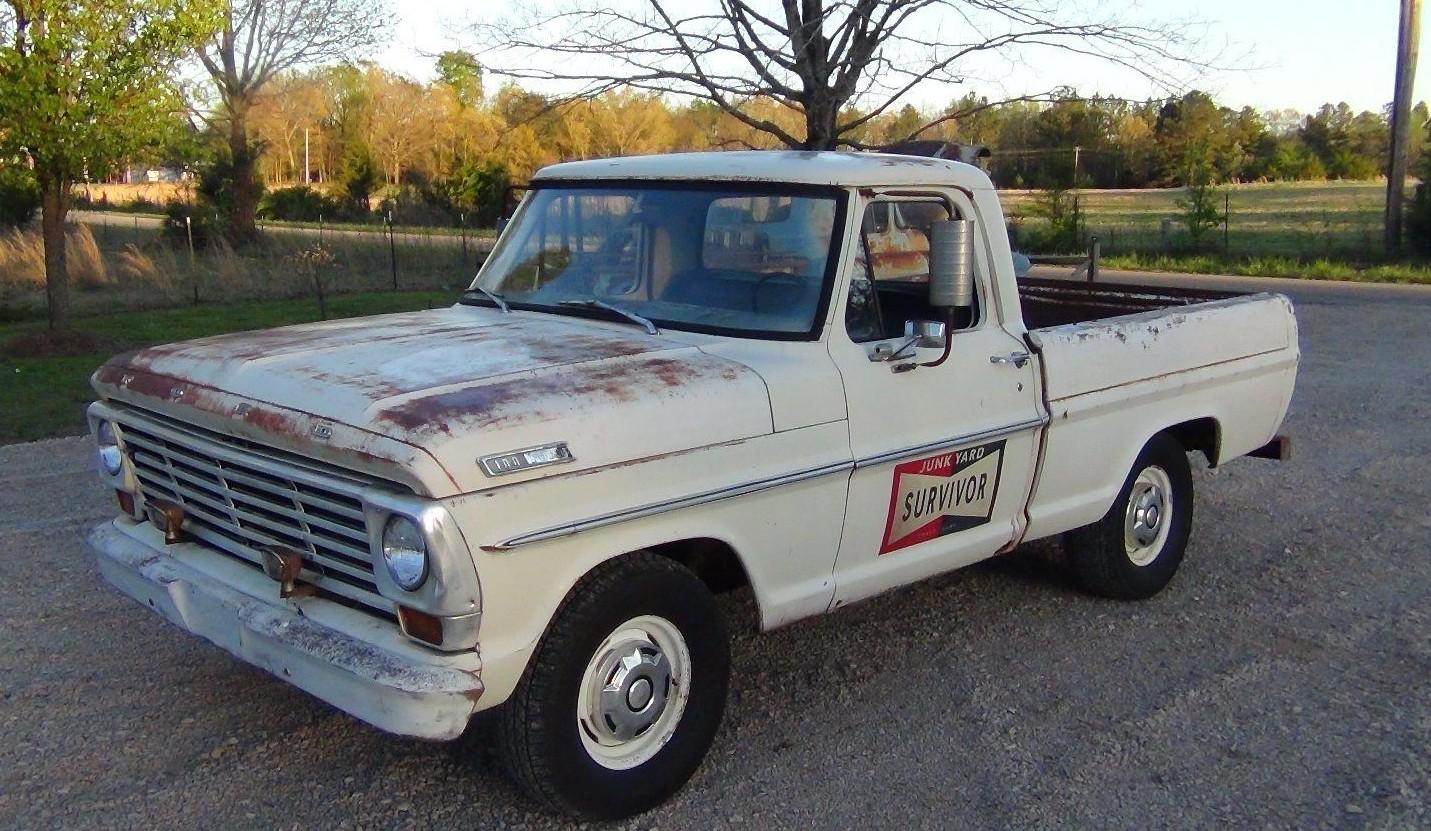 Junkyard save 1967 ford f100