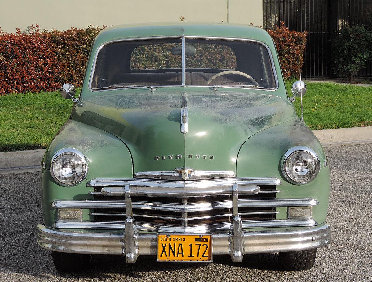 Original pink slip 1949 plymouth special deluxe for 1949 plymouth 2 door sedan
