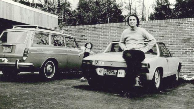 Star Power: Carl Sagan's 1970 Porsche 914