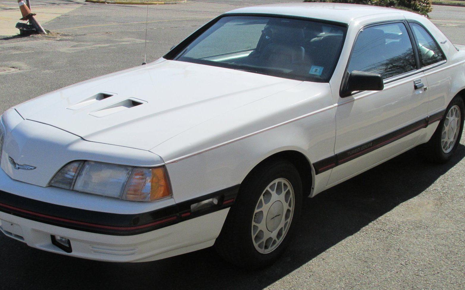 18 Year Sleep Ford Thunderbird Turbo Coupe