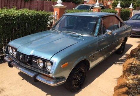 Mark II Coupe: 1972 Toyota Corona