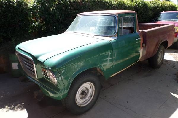 Second Take But Different: 1963 Studebaker Champ Pickup
