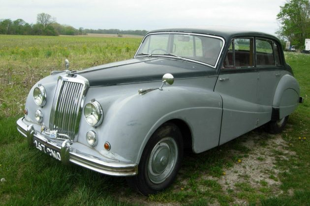 Grey (Not Gray) Ghost: 1955  Armstrong Siddeley Sapphire