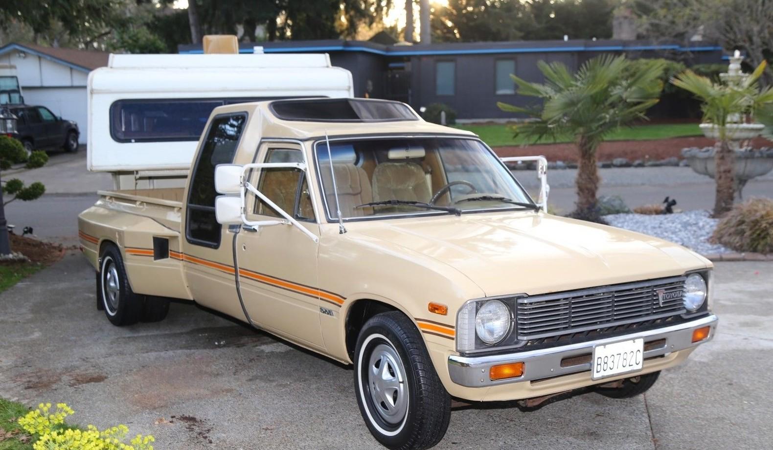 Vintage Chic Weekender 1981 Toyota Dually Amp Camper