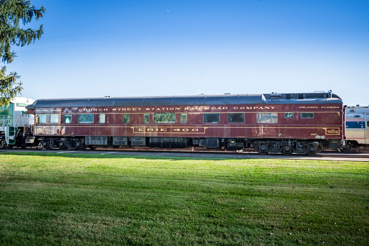 J P Morgan S Railcar Erie 400 Pullman Car