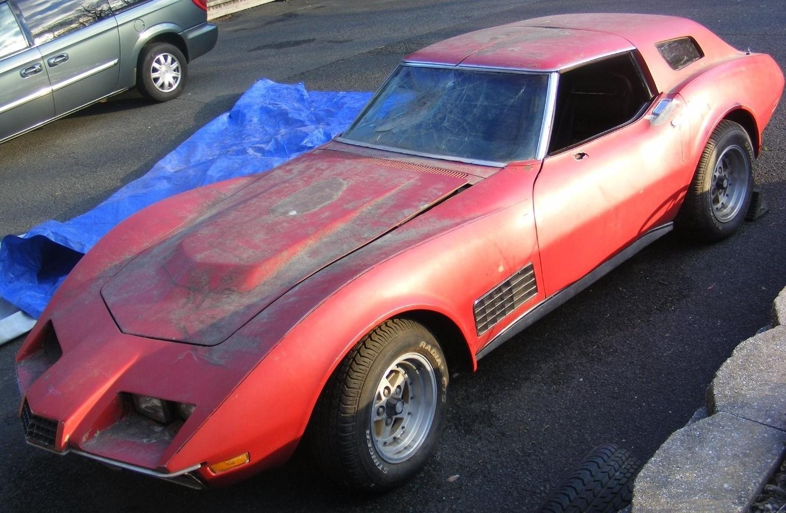 1999 Corvette For Sale >> Ontario Breadvan: 1972 Chevy Corvette