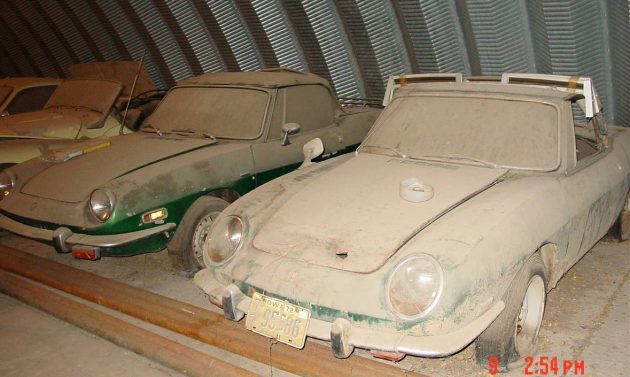 Quonset Hut Collection: Fiat 850 Spider Duo