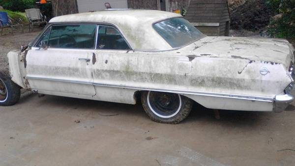Two Door Project Car: 1963 Impala Hardtop