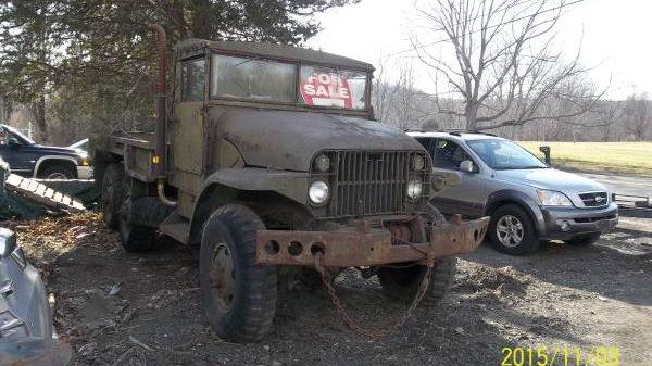 Gmc Truck For Sale >> Mystery Hauler: 1950 Military Truck