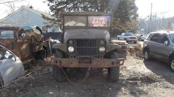 Mystery Hauler: 1950 Military Truck