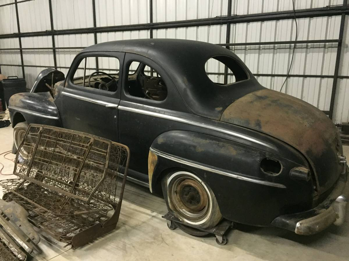 Ready To Rod 1947 Ford Coupe