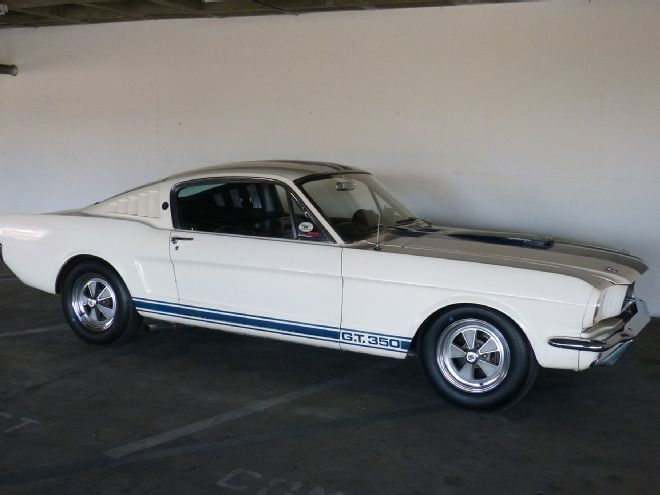 A Rare Find 1965 Shelby Mustang GT 350