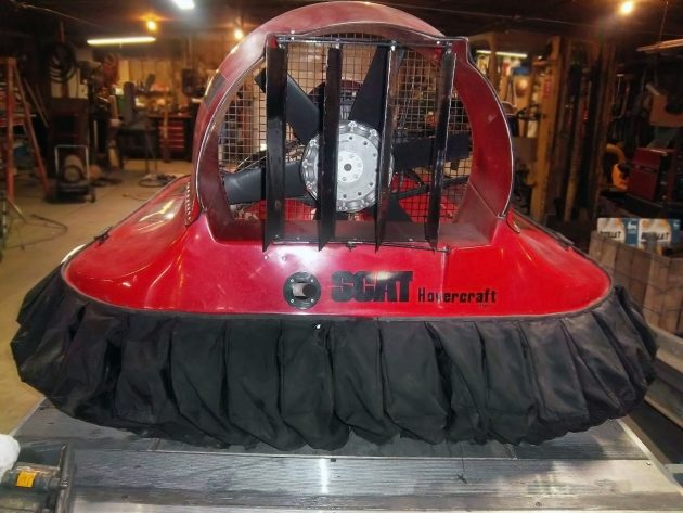 Floating on Air: 1986 SCAT Hovercraft