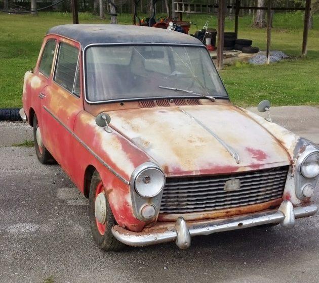 050216 Barn Finds - 1958 Austin A40 - 1