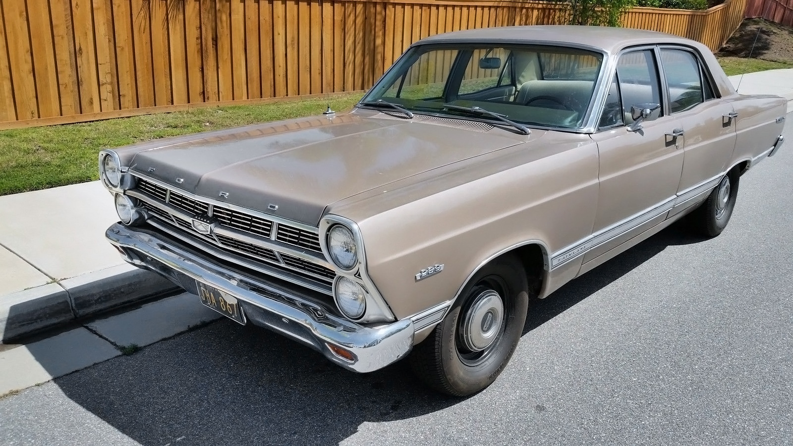 Just The Facts Ma Am 1967 Ford Fairlane 500