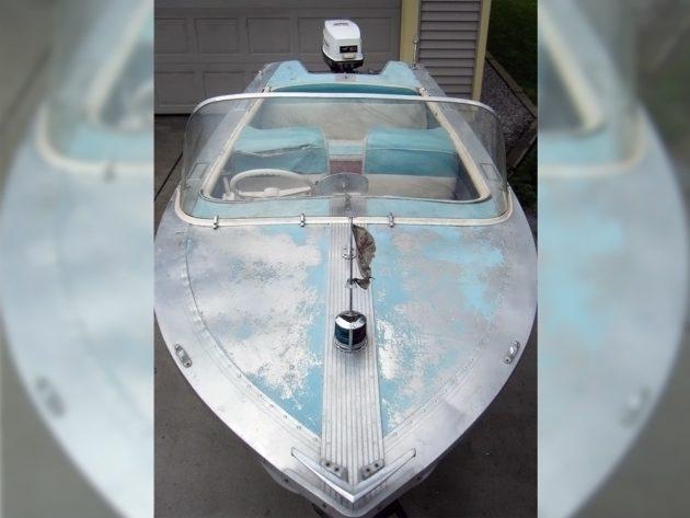 050416 Barn Finds - 1957 Cadillac Boat - 4