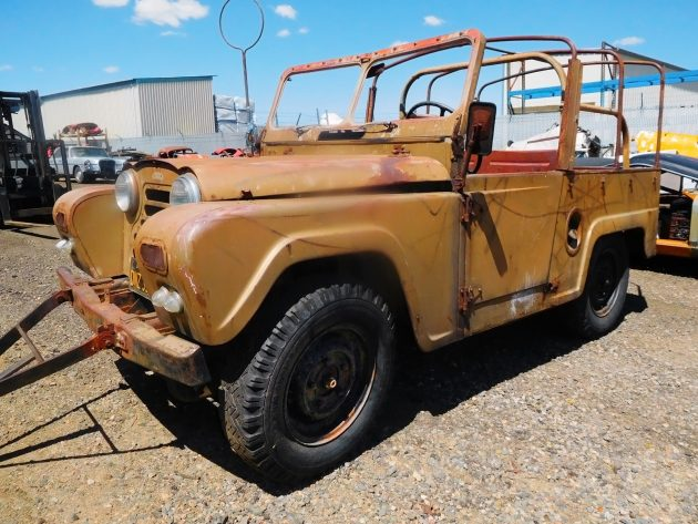 Rugged and Rusty: 1958 Austin Gipsy G1M10