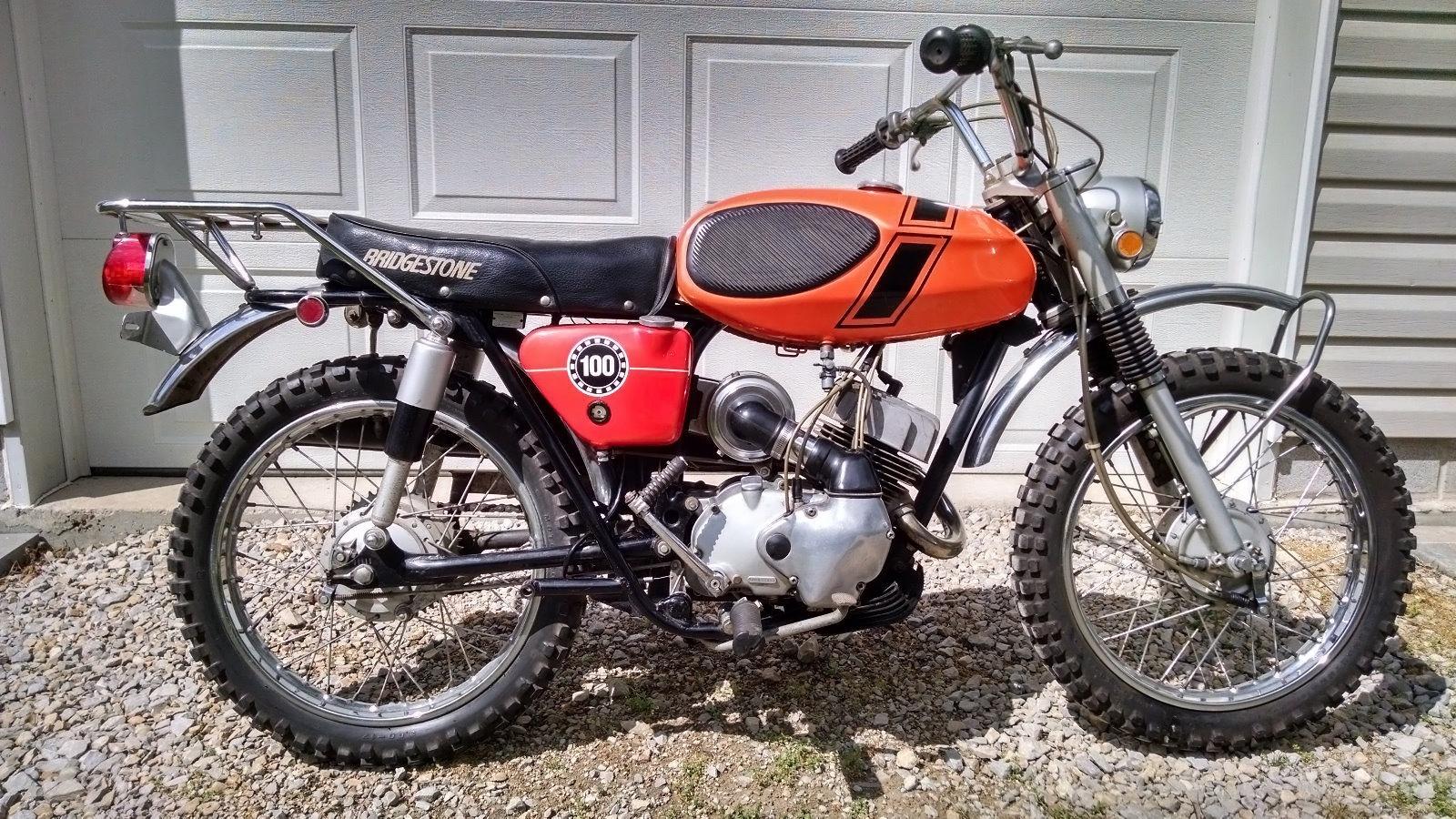 original owner 1971 bridgestone 100 tmx