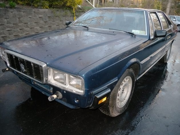 Bumperless Barn Find: 1980 Maserati Quattroporte III