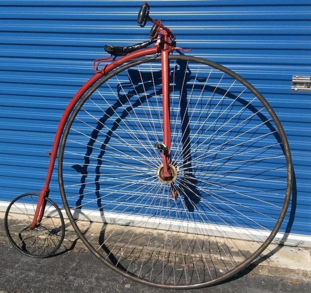 050516 Barn Finds - 1800s Gormully & Jeffery Penny Farthing High Wheel Bicycle - 1