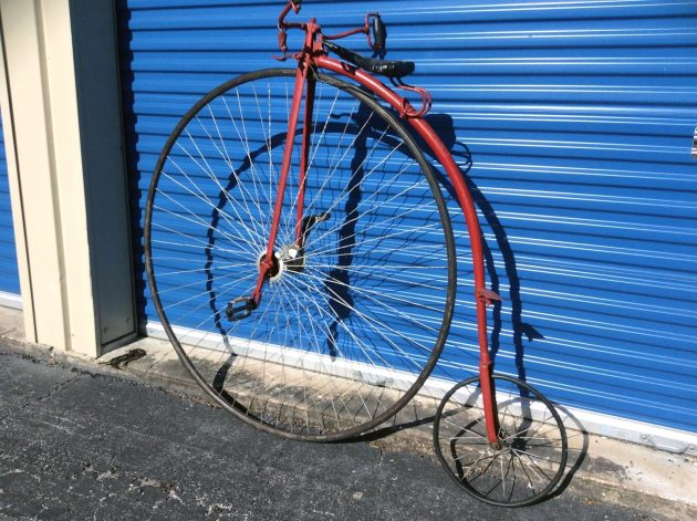 050516 Barn Finds - 1800s Gormully & Jeffery Penny Farthing High Wheel Bicycle - 2