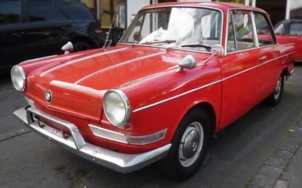 050616 Barn Finds - 1964 BMW 700 - 2