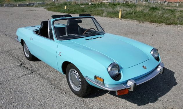 Short And Sporty: 1971 Fiat 850 Sport Spider