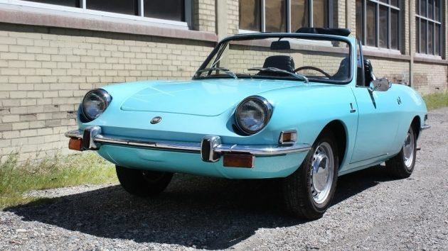 051016 Barn Finds - 1971 Fiat 850 Spider - 3