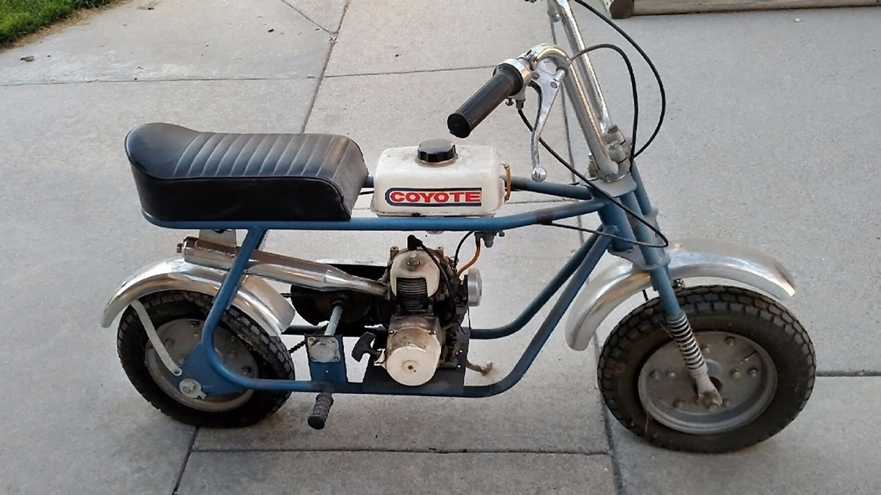 Ride Or Display 1969 Kawasaki Coyote Mb 1