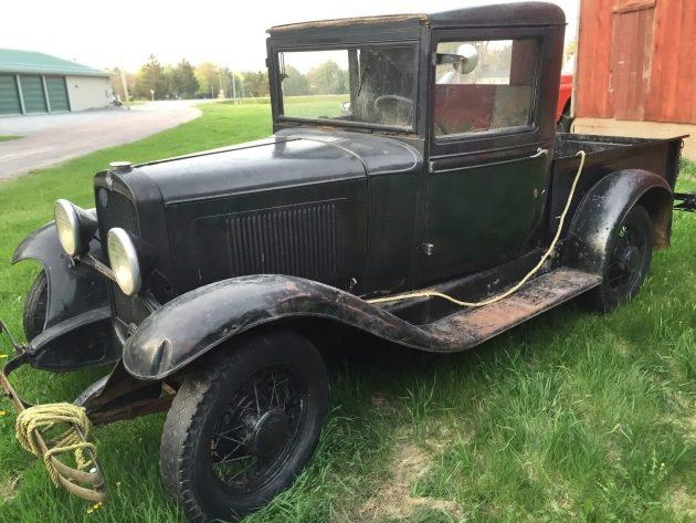 051216 Barn Finds - 1932 Chevrolet Pickup - 2