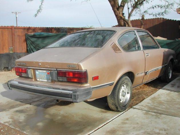 051216 Barn Finds - 1982 Isuzu iMark diesel - 3