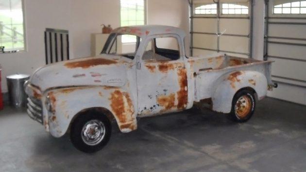 051316 Barn Finds - 1953 GMC 3100 Pickup - 1