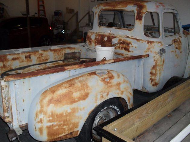 051316 Barn Finds - 1953 GMC 3100 Pickup - 2