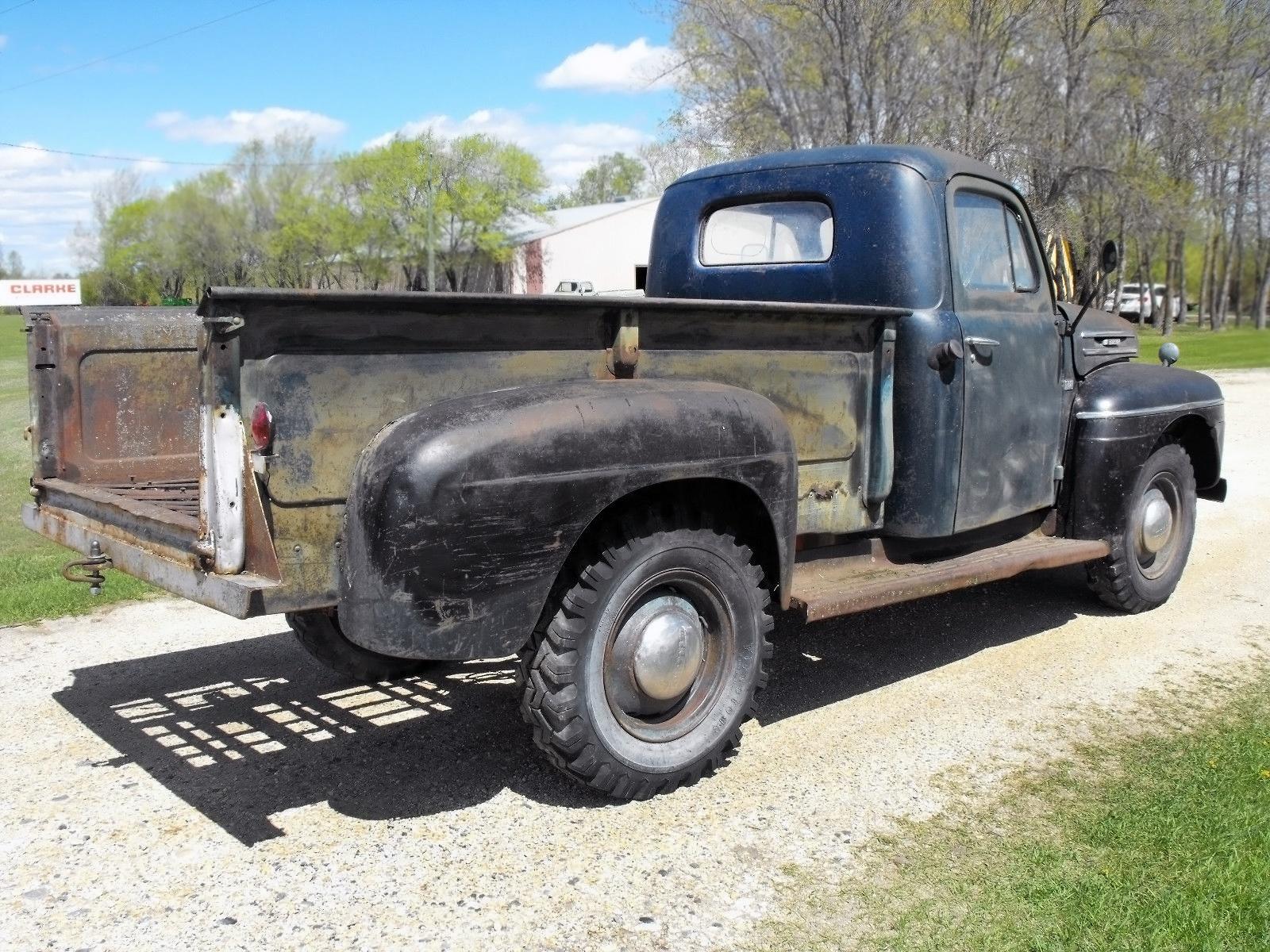 Manitoba Mercury 1950 M 68 Pickup 1948 Ford Grain Truck 051716 Barn Finds 2