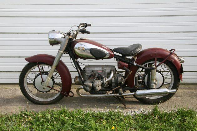 Warehouse Find: 1953 Zundapp KS601
