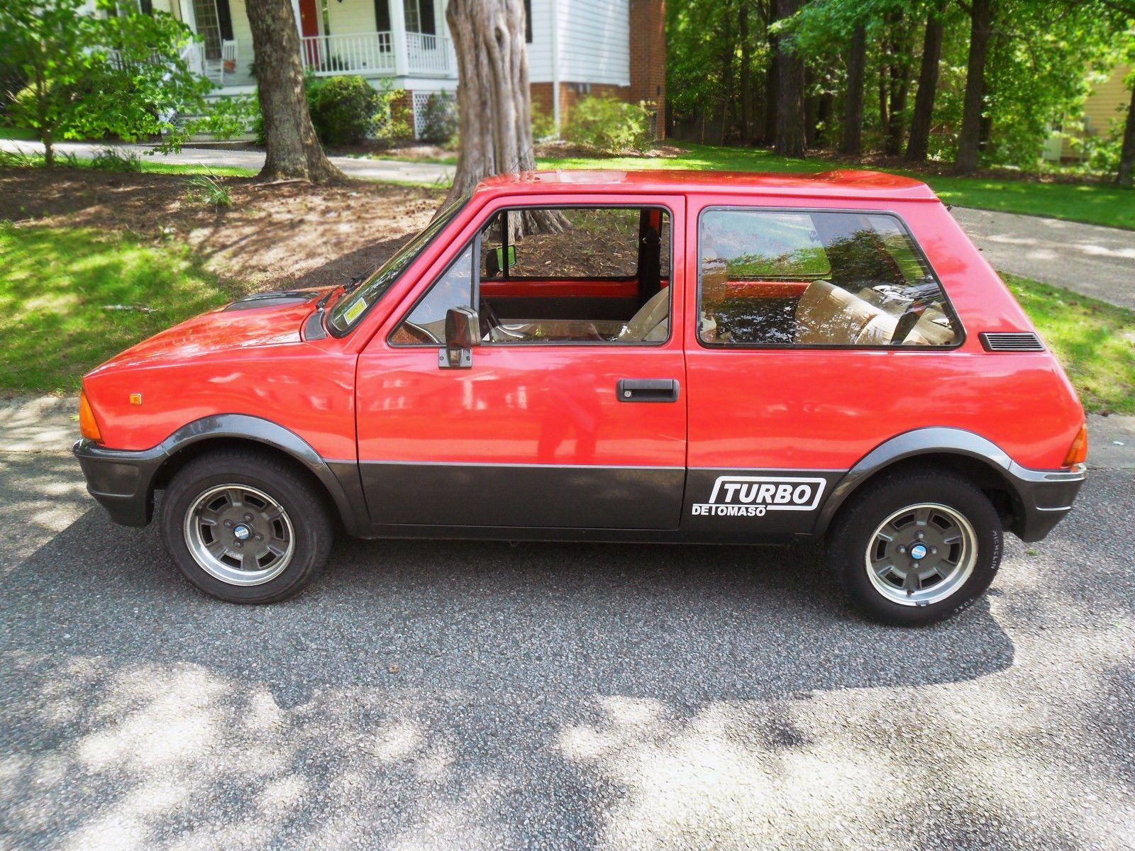 Triple Play 1989 Innocenti Mini Detomaso Turbo