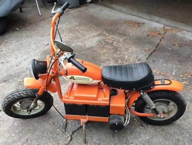 051916 Barn Finds - 1973 Auranthetic Charger Electric Mini-bike - 1