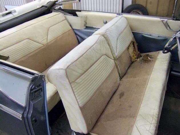 Parked since 1973 1956 chrysler new yorker for 1956 chrysler new yorker 4 door