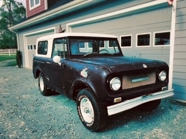 Scout Project: 1968 International Harvester Scout