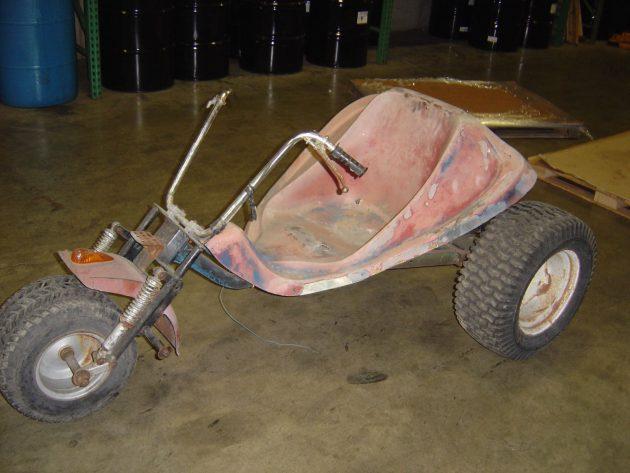 Trick Trike: 1970s Alsport Tri-Sport Trike