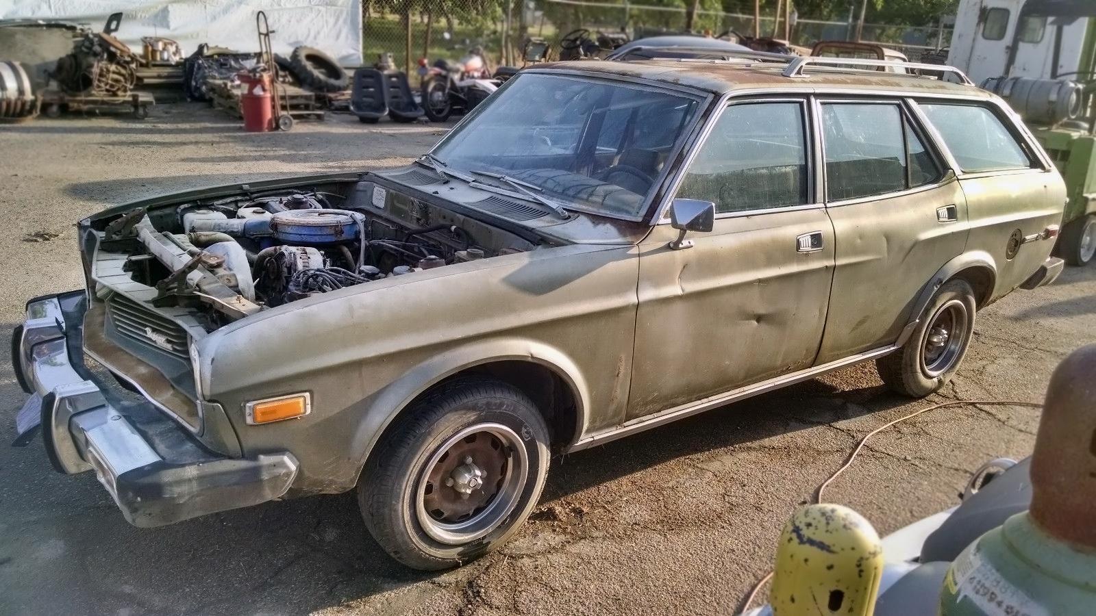 Parked 3 Decades: 1974 Mazda RX-4 Rotary Wagon