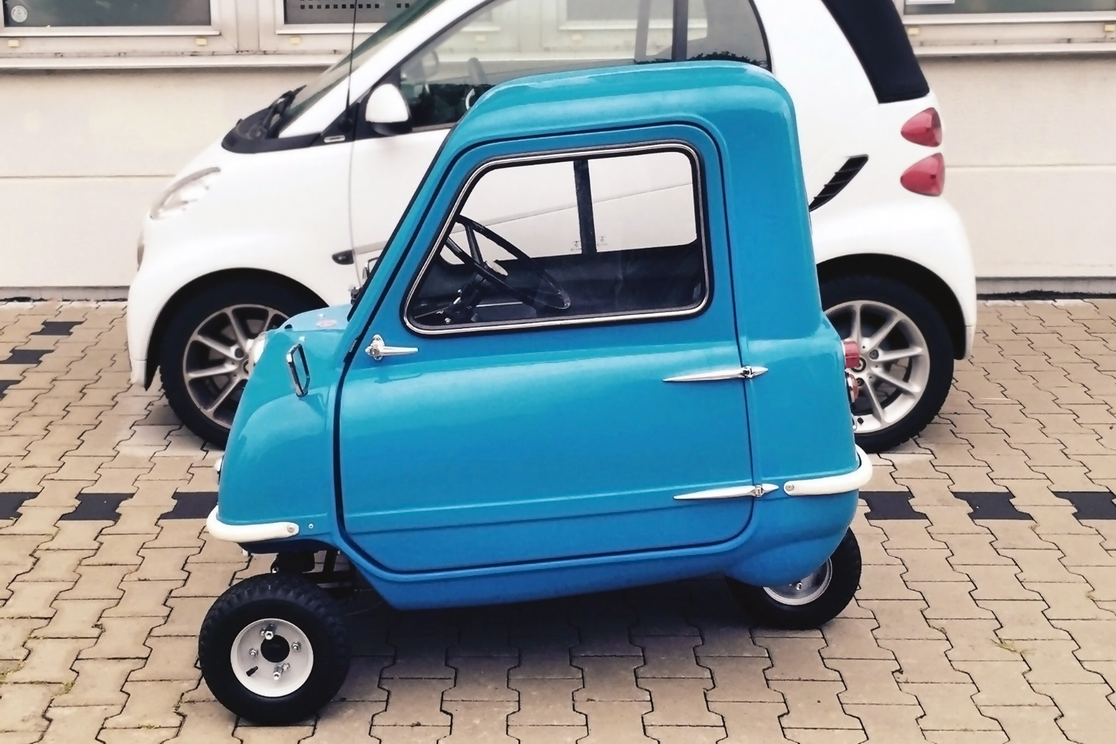 six figure three wheeler 1963 peel p50