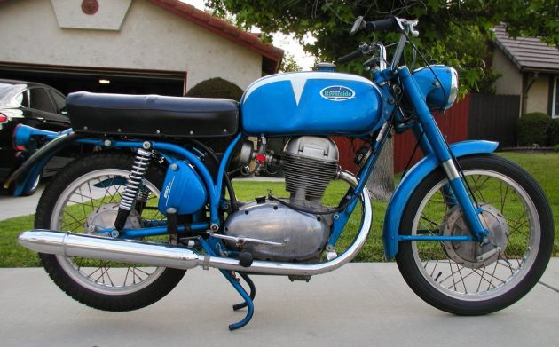 Bellissimo Blue Benelli: 1967 Wards Riverside FFA 250