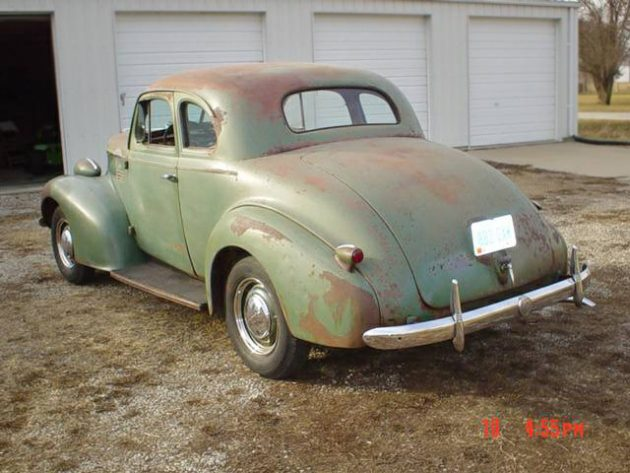 052716 Barn Finds - 1939 Pontiac Coupe - 1
